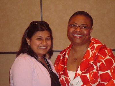 Dr. Rishita Jaju and Dr. Lynda Dean-Duru