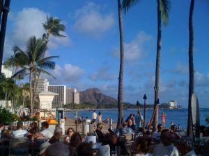 The beaches of Waikiki